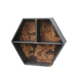 REPISA HEXAGONAL - MARCA HOME DANDOU - MODELO FURNITURE HX-TM1630